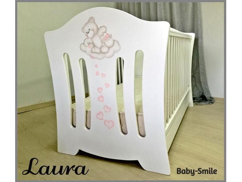 ed4d39b6237 Baby Smile Βρεφικό Κρεβατάκι Laura & Στρώμα Cocolatex Δώρο | Βρεφικά  Κρεβάτια Μετατρεπόμενα σε Προεφηβικά στον Oneirokosmo