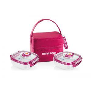 Miniland Pack-2-Go Hermifresh Pink Ισοθερμική Θήκη 89139