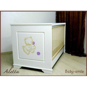 Baby Smile Βρεφικό Κρεβατάκι Aletta