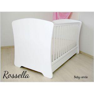 Baby Smile Βρεφικό Κρεβατάκι Rossella &  Στρώμα Cocolatex Δώρo