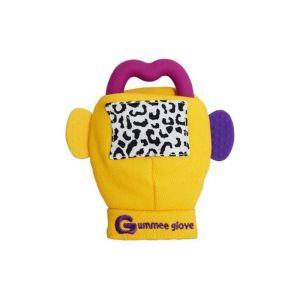 Probaby Gummee Glove Μασητικό Γάντι Κίτρινο εως 6m με θήκη!!!