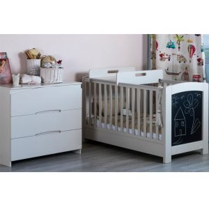 1ffefeb6c14 Santa Bebe Παιδικό Δωμάτιο Κρεβάτι & Συρταριέρα Libra