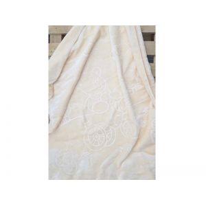 Κουβέρτα Κούνιας Ανάγλυφη Μπεζ 62320-1