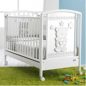 Pali Βρεφικό Κρεβάτι Birba White