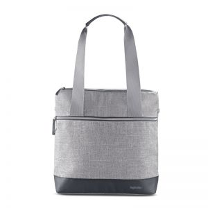 Inglesina Τσάντα Καροτσιού Aptica Back Bag Silk Grey AX70M0SLG
