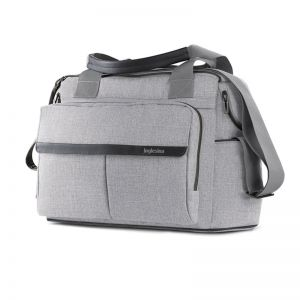 Inglesina Τσάντα Καροτσιού Dual Bag Silk Grey AX91M0SLG