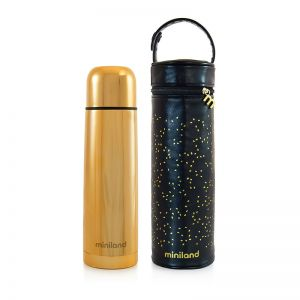 Miniland Θερμός Thermos Deluxe 500ml Gold ML89256