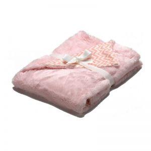 Morven Κουβέρτα Bebe Pompon Pink F72 80x110cm