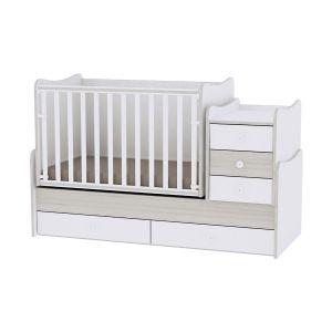 Lorelli Πολυμορφικό Κρεβάτι Maxi Plus Light Oak 10150300036A