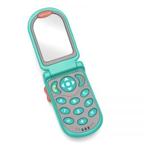 Infantino Flip & Peek Fun Phone Teal