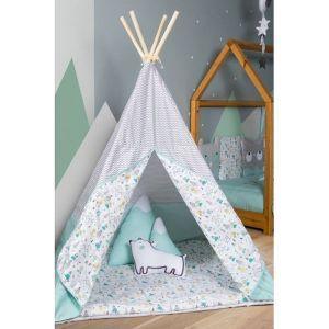Baby Star Παιδική Σκηνή Tepee Bear Mint