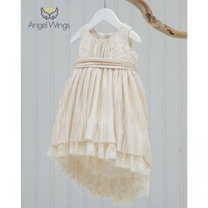 Angel Wings Βαπτιστικά Ρούχα για Κορίτσι Laura Σχέδιο 145