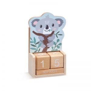 Μπομπονιέρα Ξύλινο Ημερολόγιο Koala Η970