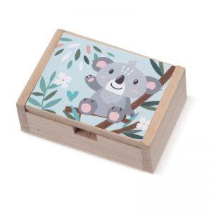 Μπομπονιέρα  Ξύλινο Κουτί Koala  ΛΝ970