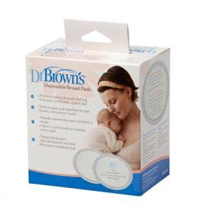 Dr Brown's Επιθέματα στήθους μίας χρήσης 30τμχ  S4022