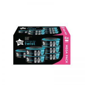 Tommee Tippee Twist Click Ανταλλακτικές σακούλες  6τμχ 85102301