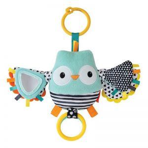 Infantino  κρεμαστό παιχνίδι Flutter & Jitter Pal - Owl