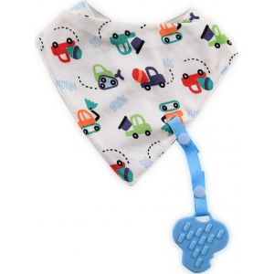 Lorelli Baby Care BIB BANDANA WITH THEETHER+ RIBBON 10260180000