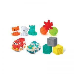 Infantino Σετ 11 Παιχνιδιών για την Αισθητηριακή & Κινητική Ανάπτυξη 0+ (B-315072-00)