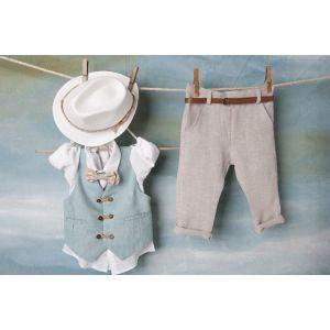 Bambolino: Teo Βαπτιστικό ρούχο για αγόρι 8467