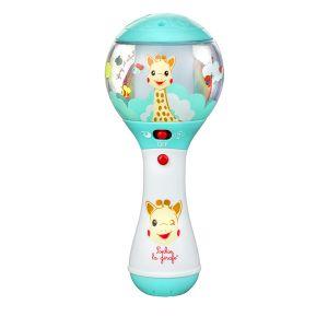 Sophie la girafe Ηλεκτρονική - μουσική κουδουνίστρα μαράκα με ανιχνευτή κίνησης Shake Shake Shake!