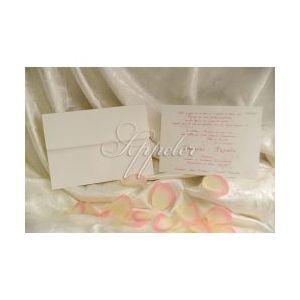 Προσκλητήριο Γάμου με Λευκή Κάρτα Appeler