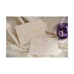 Προσκλητήριο Γάμου Κλασικό Ιβουάρ Appeler