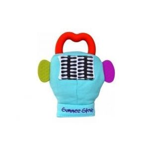 Probaby Gummee Glove Μασητικό Γάντι Μπλε εως 6m με θήκη!!! με θήκη!!!