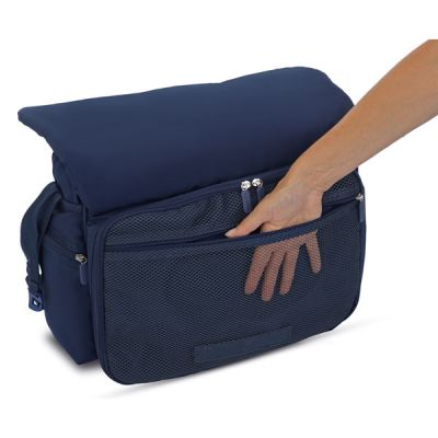 Inglesina Τσάντα Αλλαξιέρα My Baby Bag Black AX90D0BLK