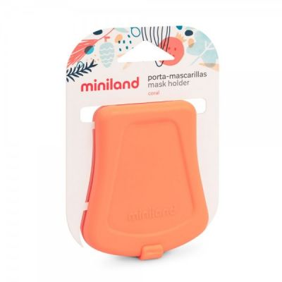Miniland θήκη Μάσκας coral  ML89410ML89409