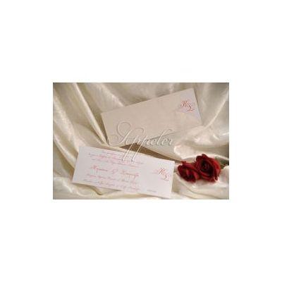 2dbf94cc3067 Προσκλητήριο Γάμου Μακρόστενο με Δερμάτινη Υφή Appeler ...